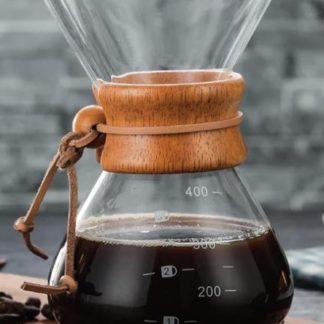 Cafeteira de vidro 400 ml